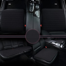High-Grade Business Style Durable PET Material 3-Pieces Universal Car Seat Mat