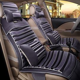 New Gray Design Blending Craft High-Grade Fabric Material Universal Car Seat Cover