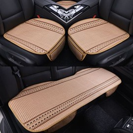 Summer Spring Durable PET Ice Silk Material Good Breathability Universal Car Five Seat Mat