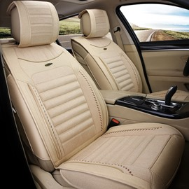 Comfortable Permeability Flax And Natural Fibers Cost-Effective Car Seat Covers