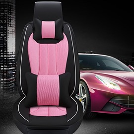 Three-dimensional Colorful Permeability Luxurious Car Seat Covers