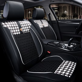 Cool Ice Silk And Rayon Pattern Simple Car Seat Covers
