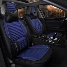 Luxurious Sport Genuine Leather Permeability Car Seat Covers