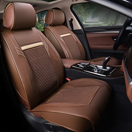 Economic Permeability Genuine Leather Design Substantial Car Seat Covers