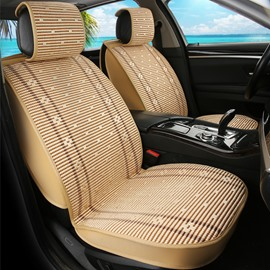 Cozy Ice Silk And Rayon Rubbing Cost-Effective Car Seat Covers