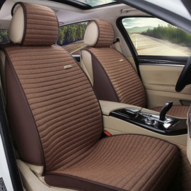 Permeability Environmental Protection Rubbing Textured Microfiber Leather Car Seat Cover