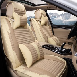 Simple Textured Reliable Quality Genuine Leather Cost-Effective Car Seat Cover