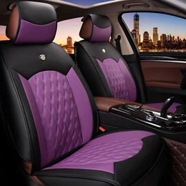 Beautiful Color Rubbing Genuine Leather Cost-Effective Car Seat Cover