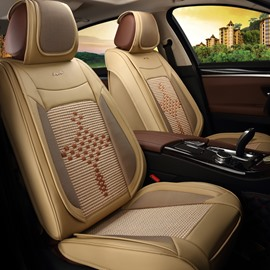 Smooth Luxurious Cost-Effective Ice Silk And Rayon Car Seat Cover