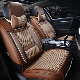 Luxury Business Rubbing Ice Silk And Rayon Car Seat Cover