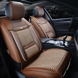 Stable Quality Business Cost-Effective Ice Silk And Rayon Car Seat Cover