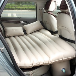 Solid Color Cozy Luxurious No Electrostatic TPU Material Car Inflatable Bed