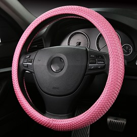 The Sweat Absorbing Ice Silk Steering Wheel Cover