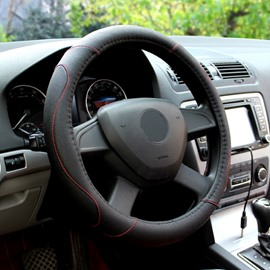 Mysterious Black And Match Your Steering Wheel Perfectly Suitable for Most Round Steering Wheels