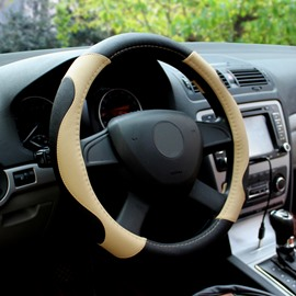 New Charming Style And PU Leather Material Steering Wheel Covers