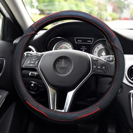Classic Colors Hot Selling Leather Steering Wheel Cover