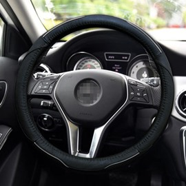Comfortable And Beautiful Magic Leather Universal Steering Wheel Cover