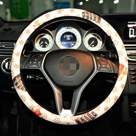 Creative Printed Style And Hot Selling Steering Wheel Cover