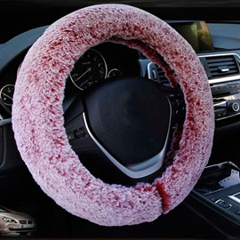 Super Comfortable And Warm Plush Material Popular Warm Car Steering Wheel Cover