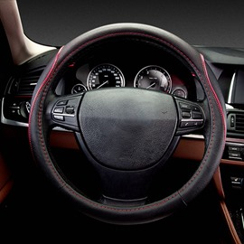 New Concept Of Classic Fashion Absorbent Leather Car Steering Wheel Cover