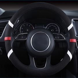 Easy Breathable And Install Fantastic Design With Ribbon Style Car Steering Wheel Cover