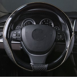Durable New Popular Design Anti-Skid PU Material Medium Car Steering Wheel Cover