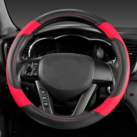 Amazing Cool Crocodile Skin Pattern Contrast Color Comfortable Steering Wheel Cover