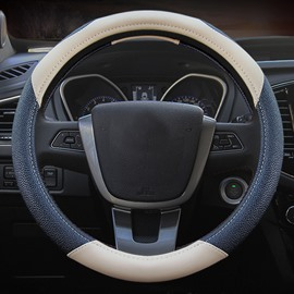 Exquisite Workmanship And Anti-Skidding Gorgeous PU Car Steering Wheel Cover