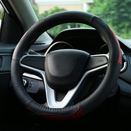 Absolute Whole Durable PU Leather Material Medium Steering Wheel Cover