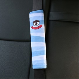 Creative Cartoon Figured Red Lips Monster Seat Belt Cover