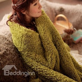 New Arrival High Quality Berber Fleece Sweet Warm Blanket
