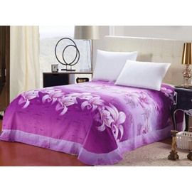 Beautiful Purple Lily Flowers Print Sheet