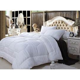 Super Soft White Queen 100% Cotton Down Filled Comforter