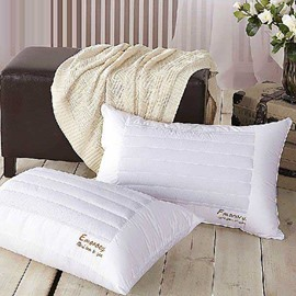 New Arrival Delicate Pure White Health Care Pillow