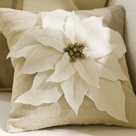 High Quality Super Soft Flower Addition Throw Pillow