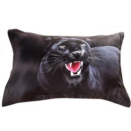 New Popular Panther Print 3D Couple Pillowcases