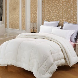Quality Adorable White Geometric Figure Comfortable Skincare Quilt