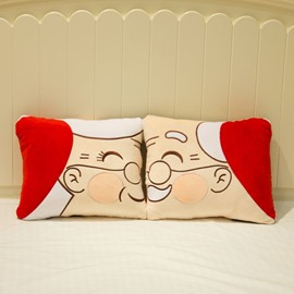 Creative Joyous a Couple Pattern a Pair Wedding Bed Pillow