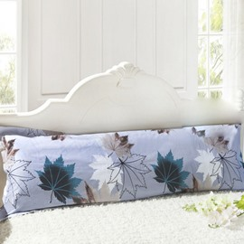Super Soft Vivid Maple Leaf Pattern Bed Pillowcase for a Couple