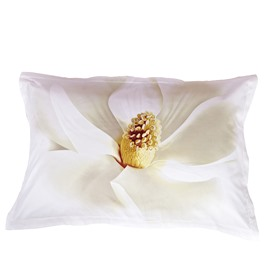Cotton White Flower Skin Care 2-Piece Pillowcases