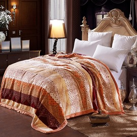 High Quality Super Warm Jacquard Design Blanket