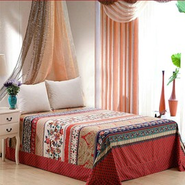 Luxury European Jacquard Style Cotton Printed Sheet
