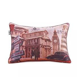 British Scenery Paint Throw Pillow