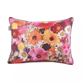 Beauiful Pink Peach Blossoms Paint Throw Pillow