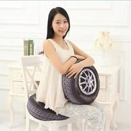 Creative Automobile Tire Pattern Cushion