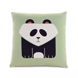 Cartoon Panda Paint Throw Pillow Case