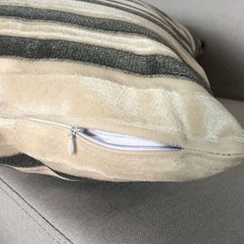 Noble Modern Decorative Chic Stripe Design Pillow