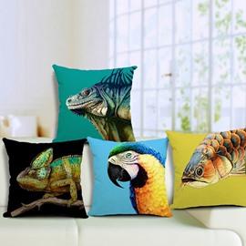 Ethnic Style Animal Print Throw Pillow Case