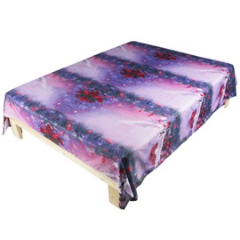 3D Flying Horse Printed Polyester Flat Sheet