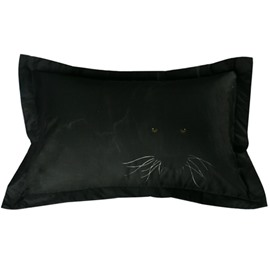 Imperial 3D Panther Printed 2-Piece Polyester Pillow Cases